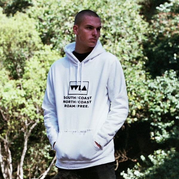 "The Coastal Hood - White ""One of a Kind"" (Medium)"