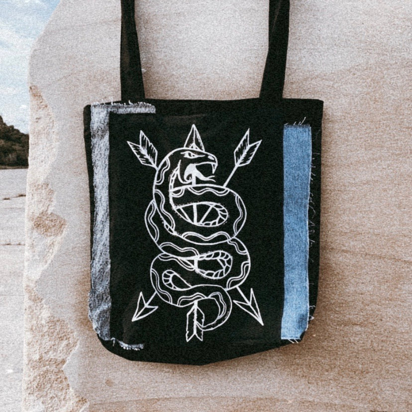 Snakes & ▲rrows- Eco Tote