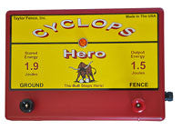 Cyclops Hero Plug-in Fence Energizer - 1.5 joule