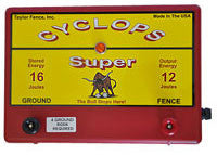 Cyclops Super Plug-in Fence Energizer 12 joule