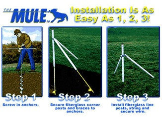 Mule Auger Anchor Install Tool