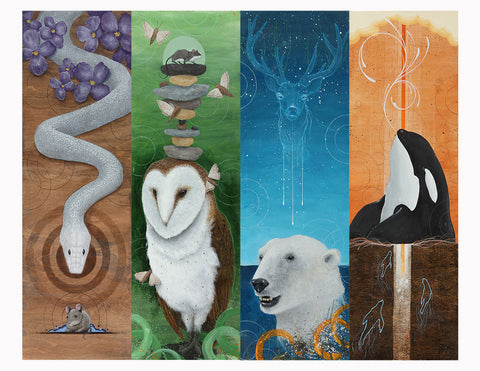 'The Four Seasons' Limited Edition Print