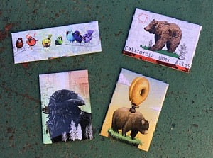 Fridge Magnet Four pack