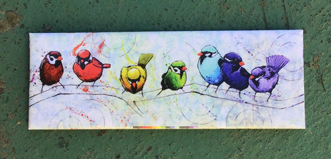 Pride Birds Fridge Magnet