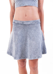 Acid Wash Skater Skirt 4