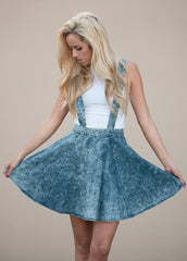 Acid Wash Skater Skirtall Dress 2