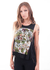 YOUNG WILD FREE Muscle Tank