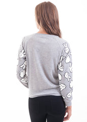 Mickey Hands Mesh Sweater 2