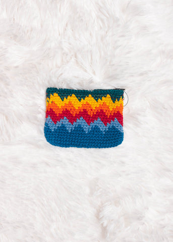 Guatemalan Crochet Coin Purse