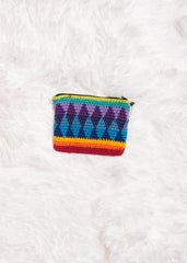 Guatemalan Crochet Coin Purse 2