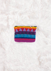 Guatemalan Crochet Coin Purse 6