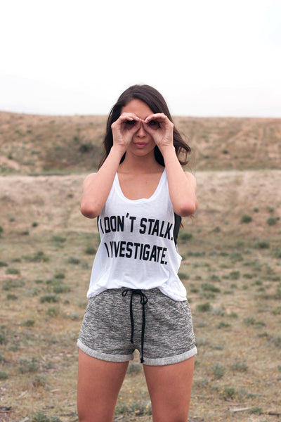 Stalk Investigate Muscle Tank