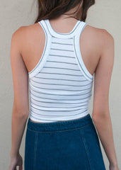 Striped Racer Tank 2