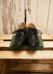 Tuxedo Cut Out Loafers