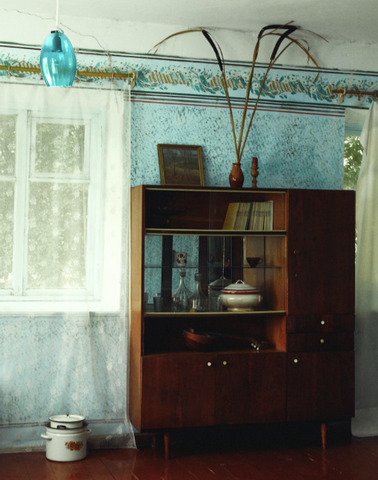 1970's style dining room in Kyiv.