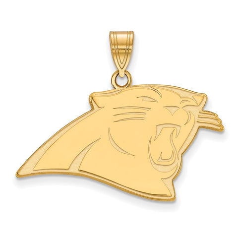 Carolina Panthers Large Pendant in Gold Plate