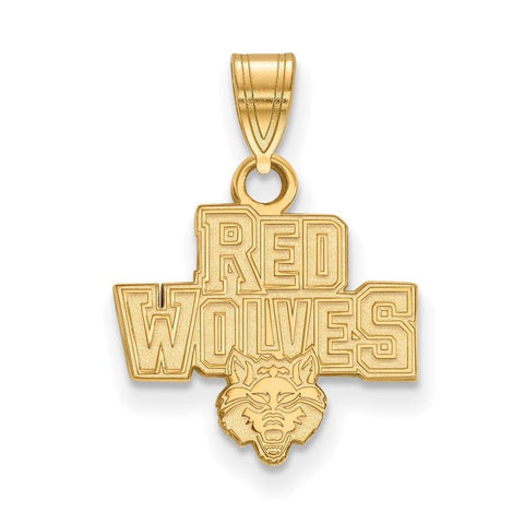 Arkansas State Red Wolves Small Pendant