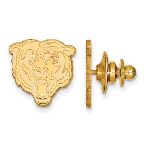 Chicago Bears Lapel Pin in Gold Plate
