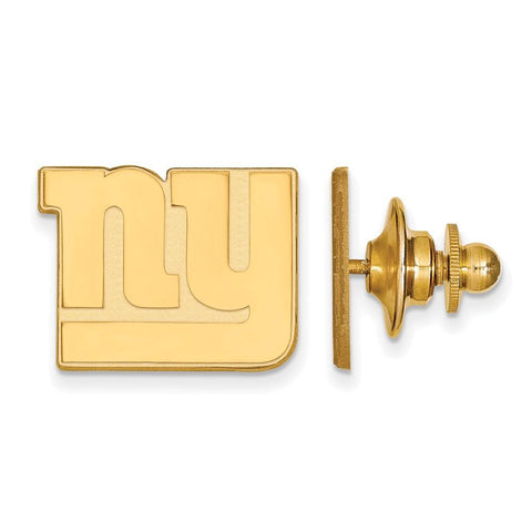 New York Giants Lapel Pin in Gold Plate