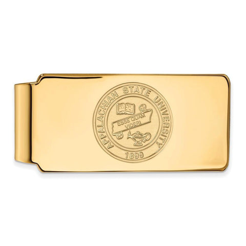 Appalachian State Mountaineers Money Clip Crest