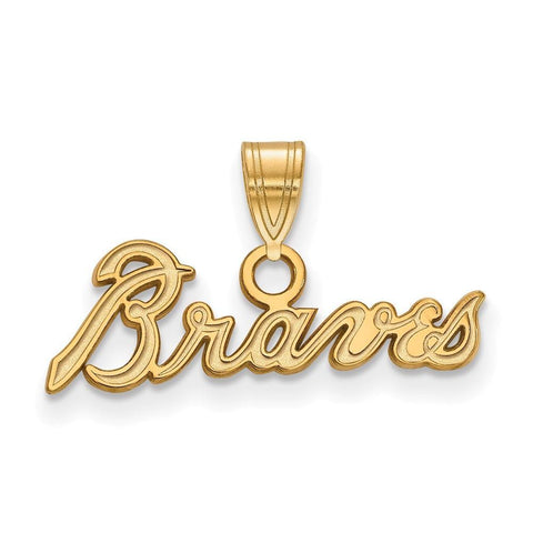 Atlanta Braves Small Pendant