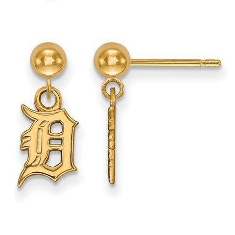 Detroit Tigers Earring Dangle Ball
