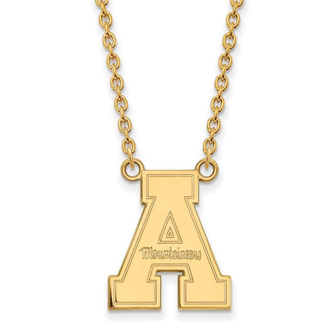 Appalachian State Mountaineers Large Pendant w/ Necklace