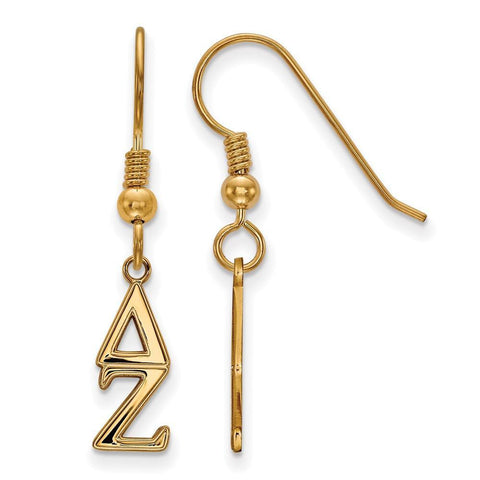 Delta Zeta Small Dangle Earrings