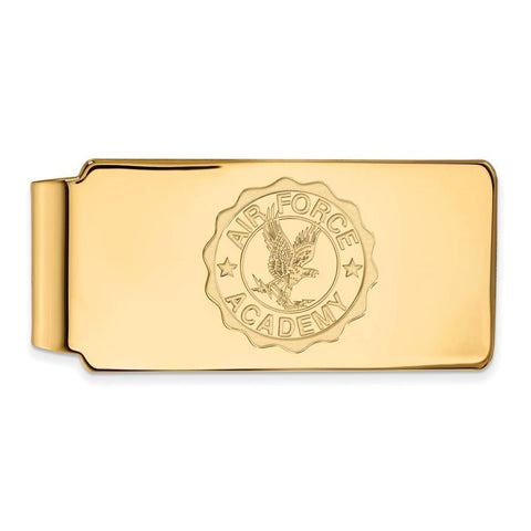 Air Force Falcons Money Clip Crest