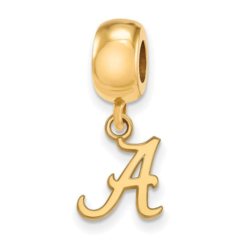 Alabama Crimson Tide Bead Charm XS Dangle