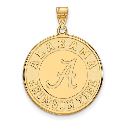 Alabama Crimson Tide XL Disc Pendant