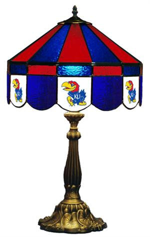 Kansas Jayhawks Table Lamp