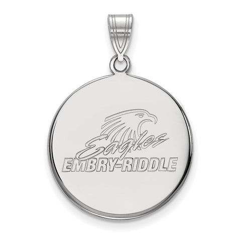Embry-Riddle Large Disc Pendant