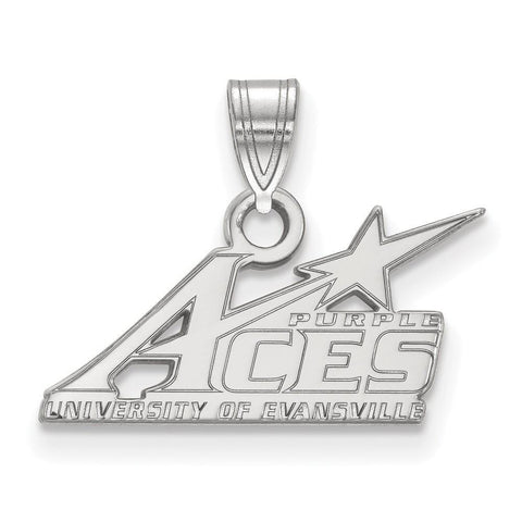 Evansville Purple Aces Small Pendant