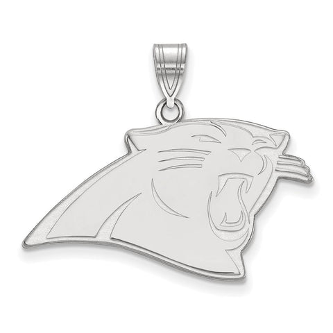 Carolina Panthers Large Pendant in Sterling Silver