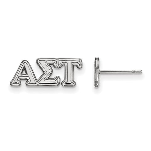 Alpha Sigma Tau Extra Small Post Earrings