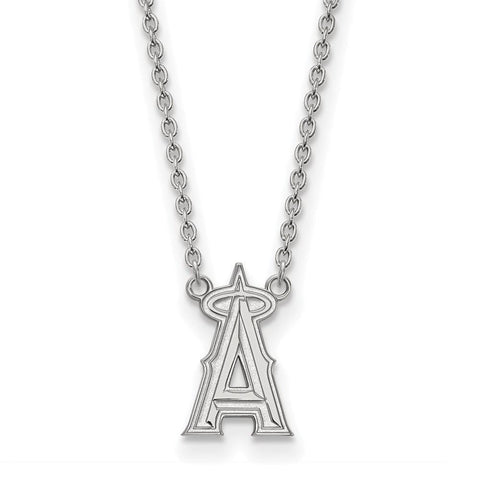 Los Angeles Angels Large Pendant w/ Necklace