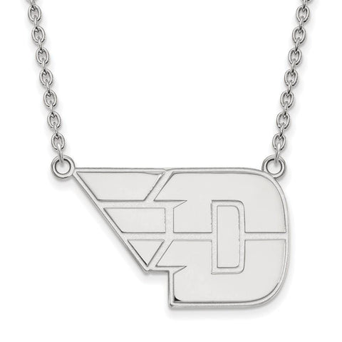 Dayton Flyers Large Pendant w/ Necklace