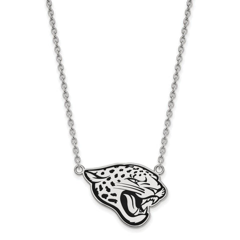 Jacksonville Jaguars Large Pendant Necklace in Sterling Silver