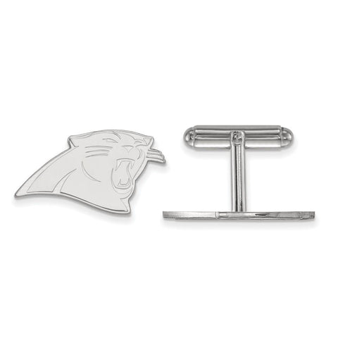Carolina Panthers Cufflinks in Sterling Silver