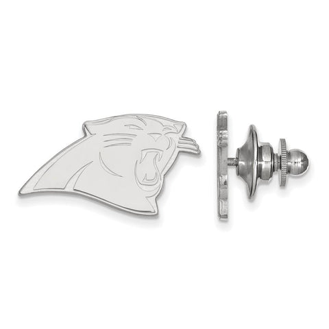Carolina Panthers Lapel Pin in Sterling Silver
