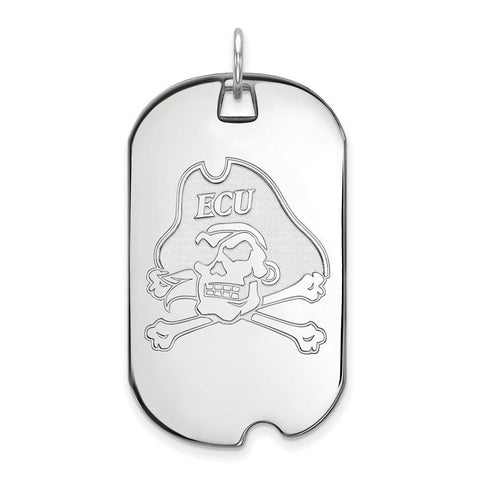 East Carolina Pirates Large Dog Tag