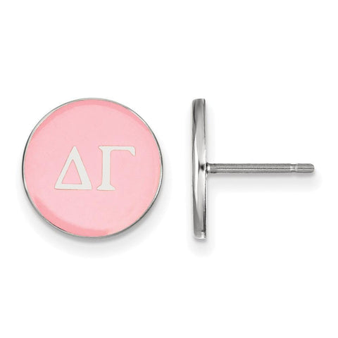 Delta Gamma Enameled Post Earrings