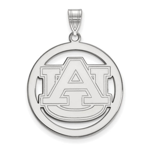 Auburn Tigers Large Pendant in Circle