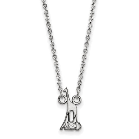 Alpha Epsilon Phi Extra Small Pendant with 18 Inch Chain