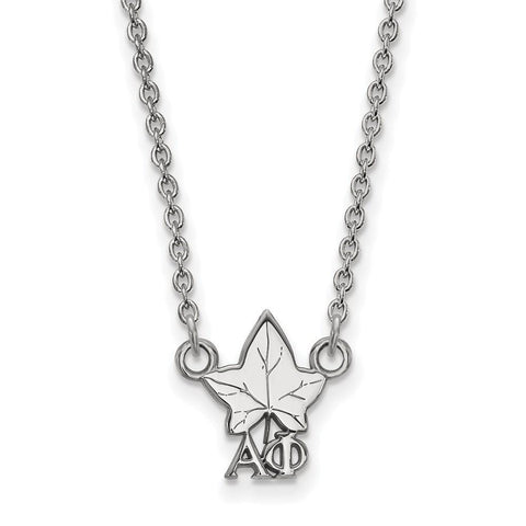 Alpha Phi Extra Small Pendant with 18 Inch Chain