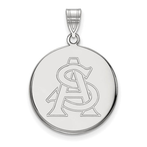 Arizona State Sun Devils Large Disc Pendant