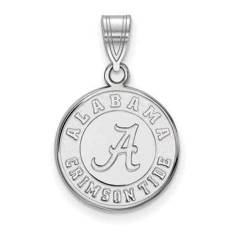 Alabama Crimson Tide Medium Disc Pendant