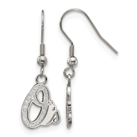 Baltimore Orioles Dangle Earrings Stainless Steel