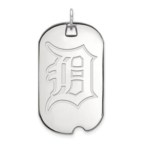 Detroit Tigers Large Dog Tag